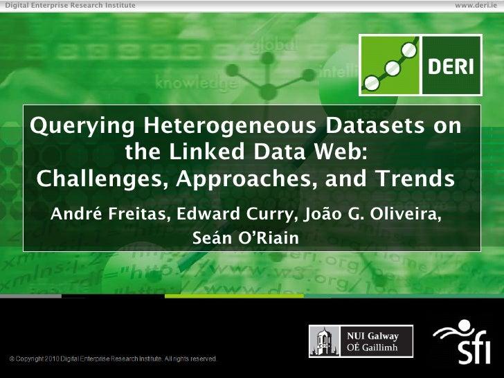 Digital Enterprise Research Institute                                          www.deri.ie          Querying Heterogeneous...