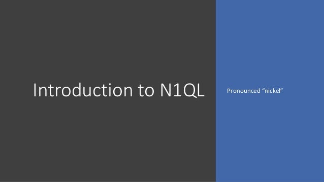 Querying Nested JSON Data Using N1QL and Couchbase
