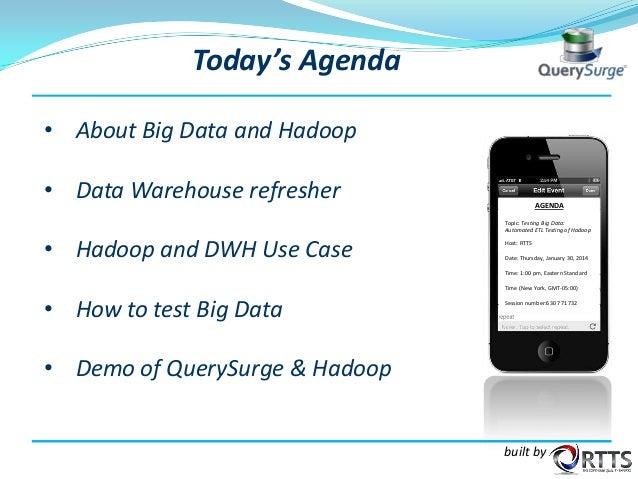 testing big data automated etl testing of hadoop