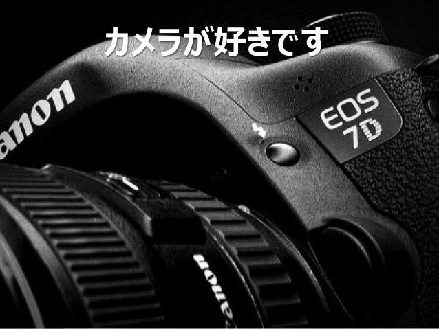 Copyright Since 1999 10 © GaiaX Co. Ltd. All rights reserved.  カメラが好きです