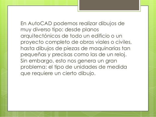 Autocad 2014 Interfaz y Unidades