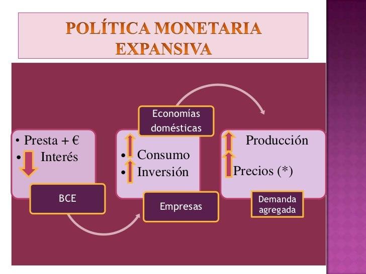 POLÍTICA MONETARIA DE LA UE<br />LAS SUBASTAS SEMANALES DEL BCE<br />
