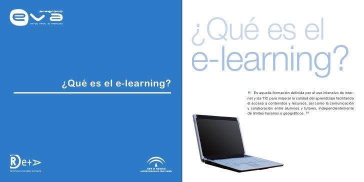 """¿Qué es el ¿Qué es el e-learning?                          e-learning?                              """" y las TIC para mejor..."""