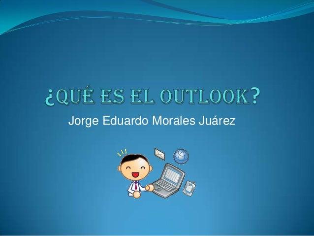 Jorge Eduardo Morales Juárez
