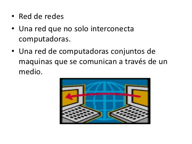 ¿Qué es internet? Slide 2