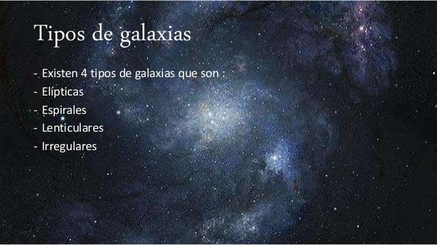 Que son las galaxias y cuantos tipos hay for Cuantos codones existen