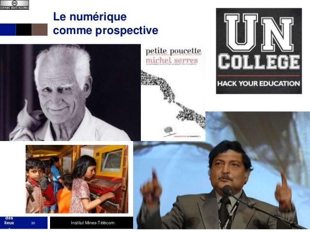 Le numérique comme prospective  MOO C état des lieux -  30  Institut Mines-Télécom  27/9/2013