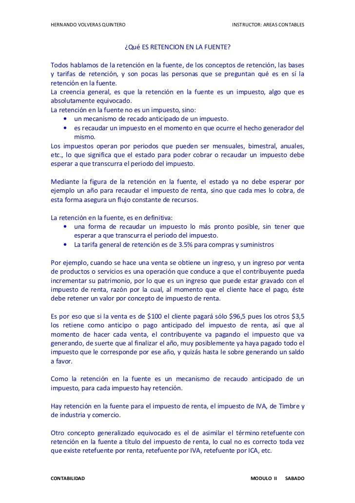 HERNANDO VOLVERAS QUINTERO                                   INSTRUCTOR: AREAS CONTABLES                         ¿Qué ES R...