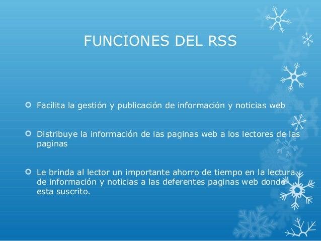 Qué es rss Slide 3