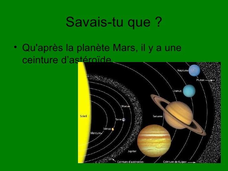 Qu est ce qu une plan te - Systeme solaire nice ...