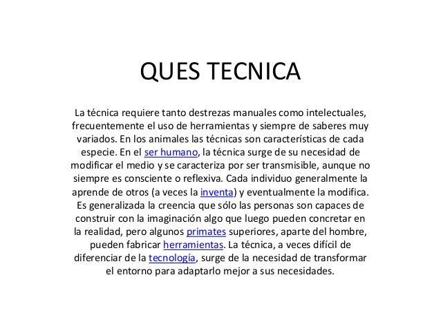 Ques tecnica Porque la arquitectura es tecnica