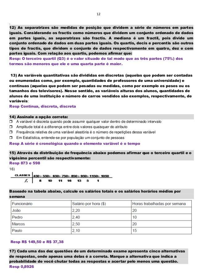 00b429f37 Questões de provas e simulados probabilidade e estatística junho 2014