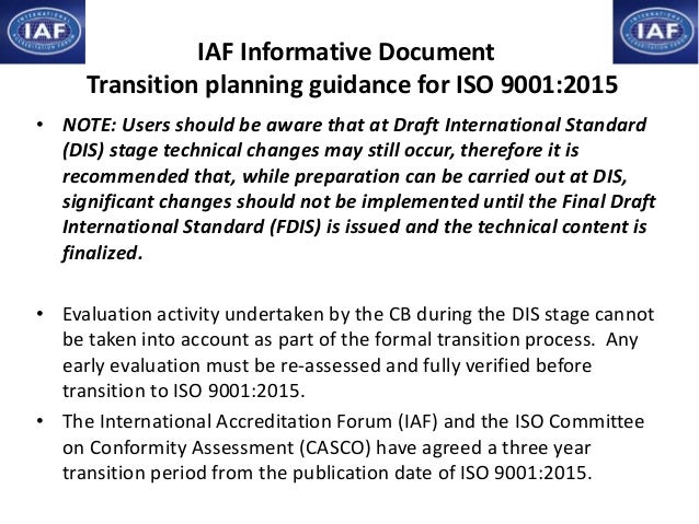 • NOTE: Users should be aware that at Draft International Standard (DIS) stage technical changes may still occur, therefor...
