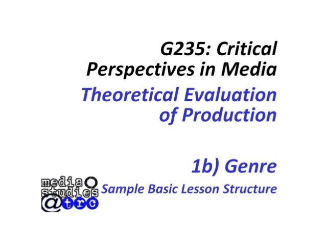 Question 1b genre presentation