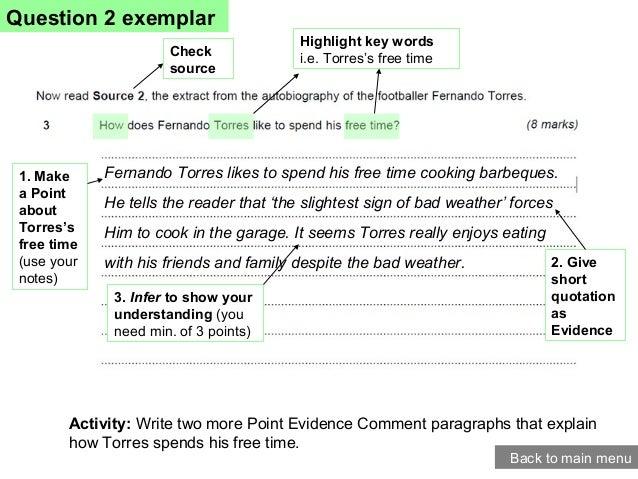 gcse english paper 2 writing to describe