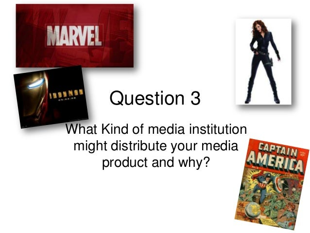 Question 3What Kind of media institutionmight distribute your mediaproduct and why?