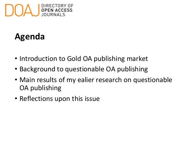 Questionable Open Acess Publishing in Latin America Slide 2