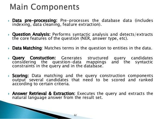 64 QA over Linked Data (Case Studies)