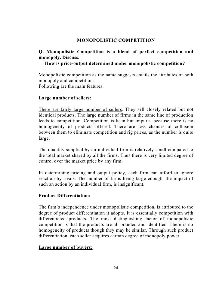 the cost of competition essay Essays & papers perfect competition and question - paper example perfect competition and question current location take test: chapter 15 & 16 microeconomics - perfect competition and question introduction .