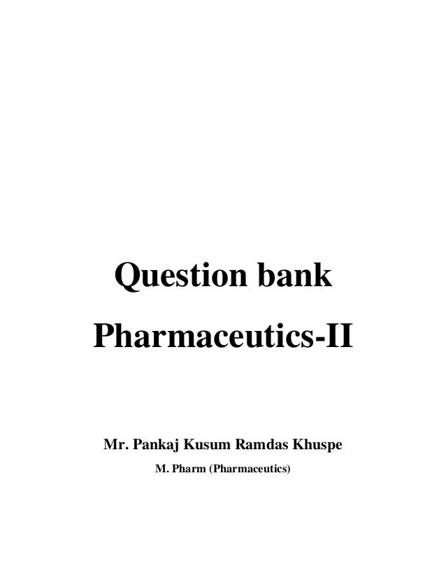 pharmaceutics lecture notes pdf download