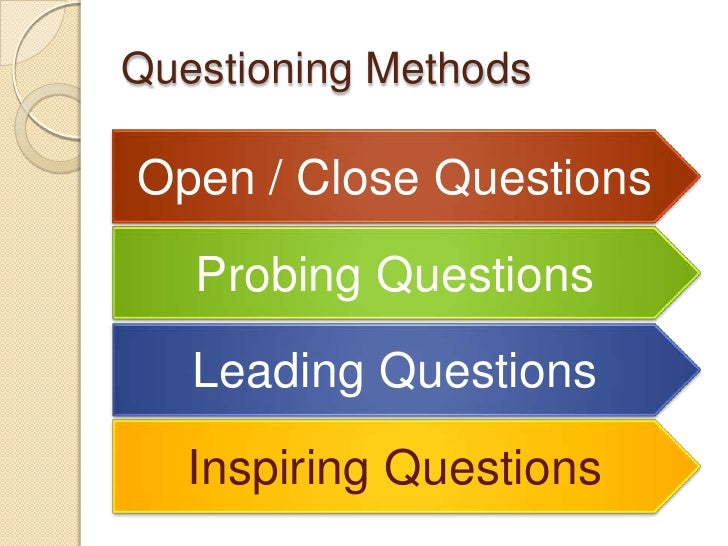 open ended questions in research papers