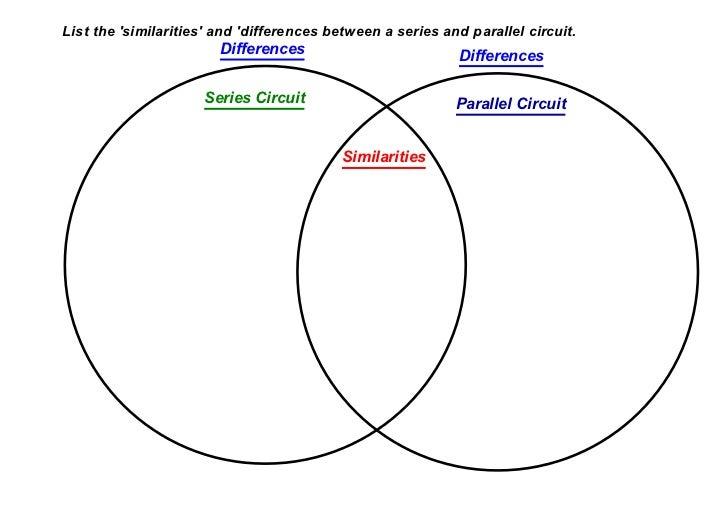 series circuit vs parallel circuit venn diagram - Gecce.tackletarts.co