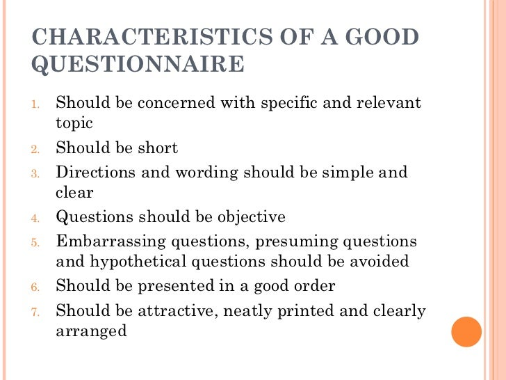 characteristics research paper Some characteristics of a good philosophy paper this will help us to understand how we can produce one ten characteristics of a good paper 1) subject-specific research tools, like the philosopher's index, can be very useful here.