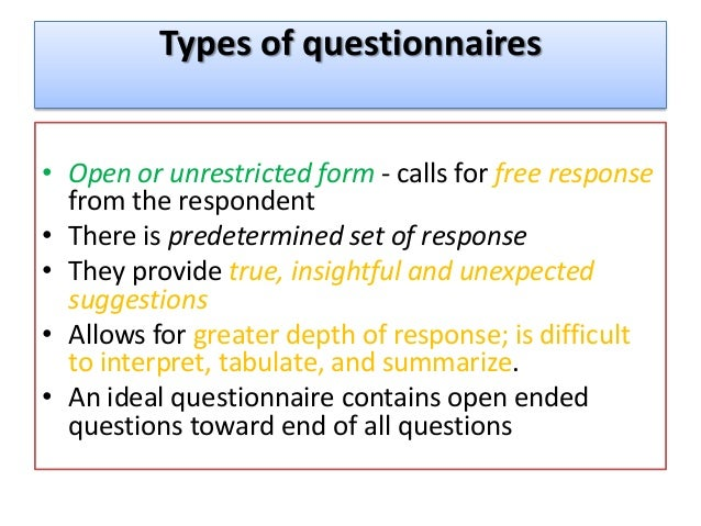 types of questionnaire Changing the order of the question types the administrator can specify the order the question types appear in the question chooser so that teachers are presented with the most common ones at the top.
