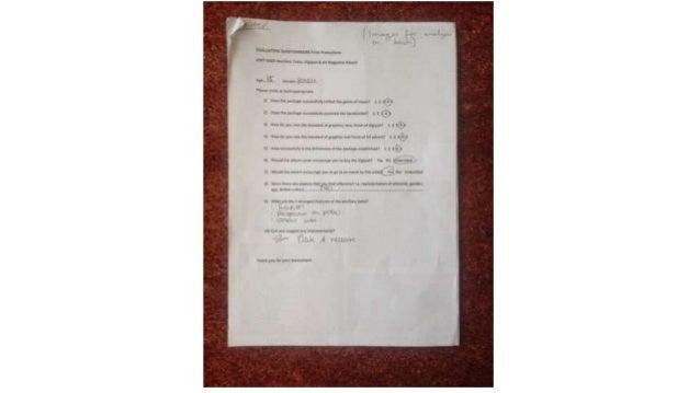 Questionnaire Slide 3
