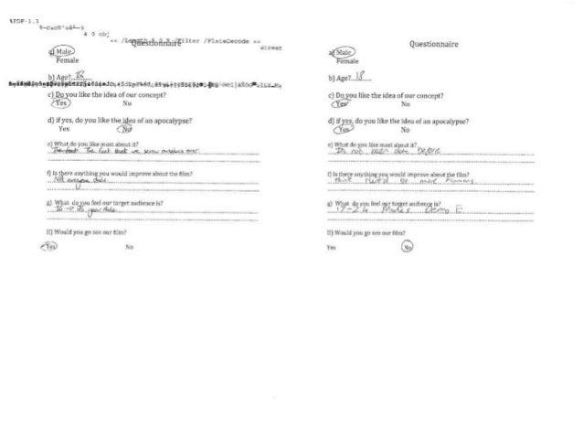 Questionnaire Responses