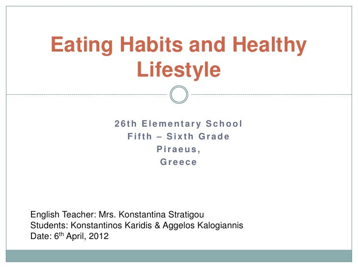 thesis statement about healthy lifestyle Check out our top free essays on healthy lifestyle to help you write your own essay.
