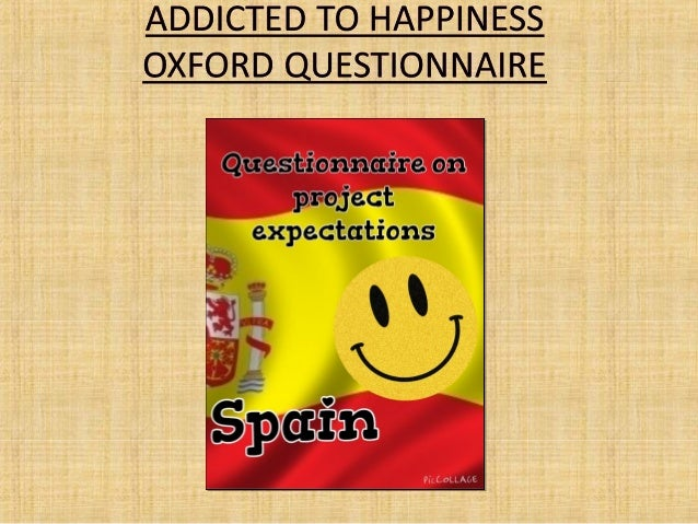 Questionnaire on project expectations spain