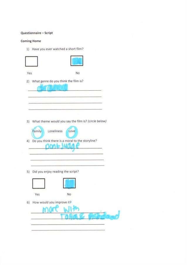 Script Questionnaire