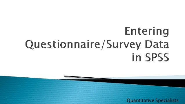 questionnaire design and analysing the data Merging qualitative and quantitative data in mixed methods research: how to and why not data collection concurrent design concurrent mixed method data.