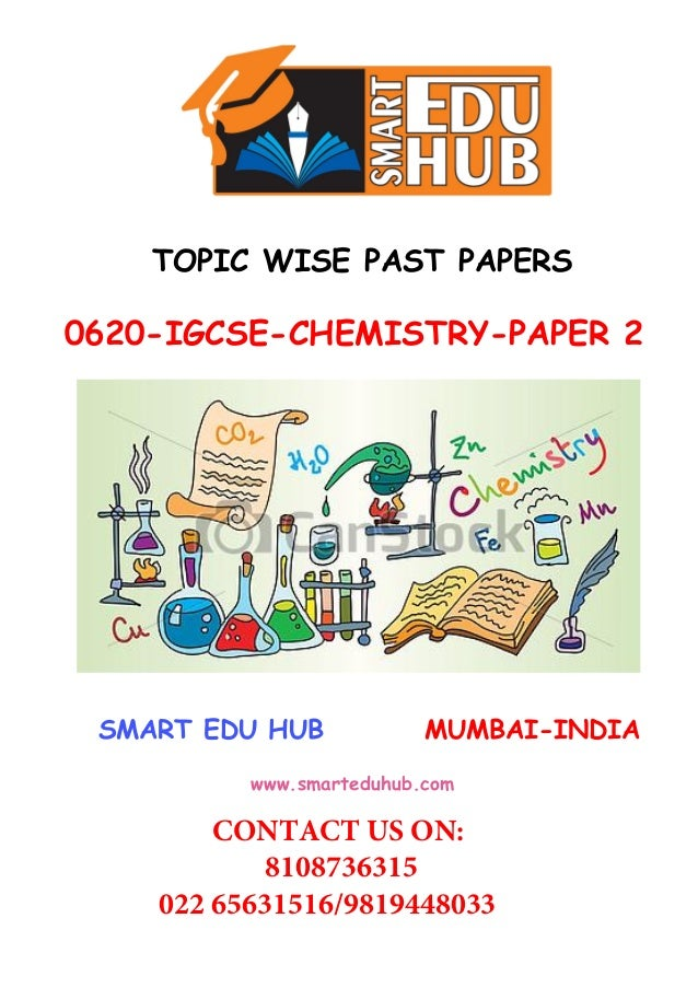 Topic wise past paper booklets for IGCSE/A levels