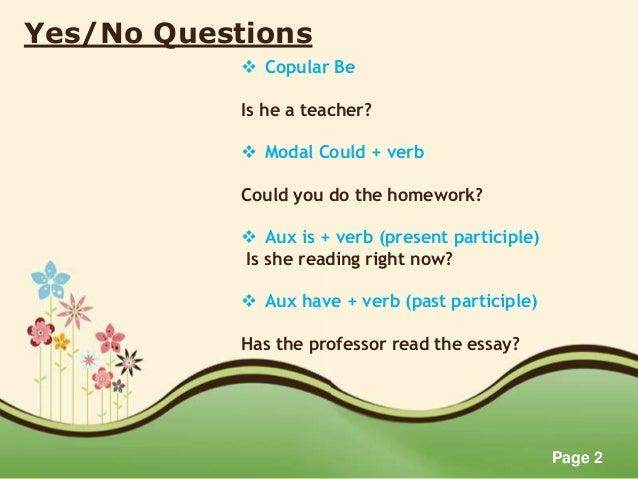 Questions Slide 2