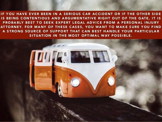 Questions about your Personal Injury Lawyer by Daniel Lieber Slide 2