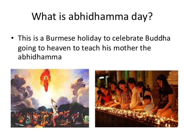 what is abhidhamma What is abhidhamma by venerable k sri dhammananda maha thera from 'what buddhists believe' abhidhamma is the analytical doctrine of mental faculties and.