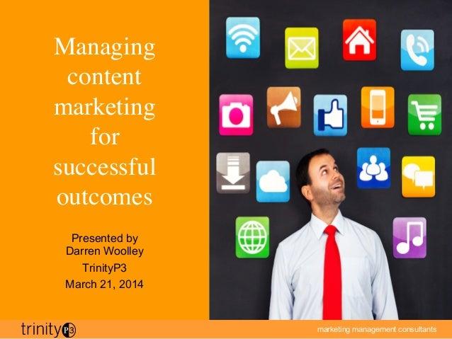 marketing management consultants
