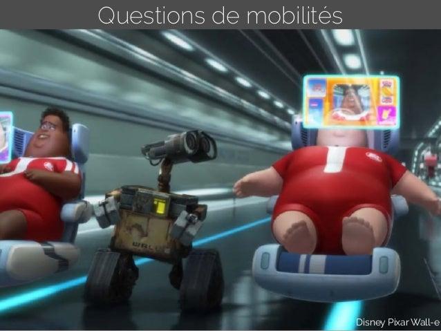 Questions de mobilités Disney Pixar Wall-e