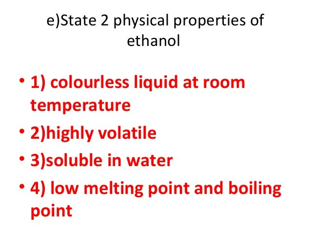 Ethanoic Acid State At Room Temperature