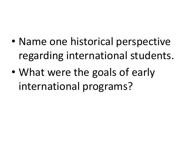 Quiz: international students (cross-cultural psychology)
