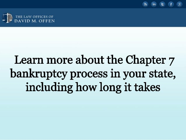 """' fl,   'OFFICES OF ' """" DAVID M.  OFFEN  Learn more about the Chapter 7 bankruptcy process in your state,  including how l..."""