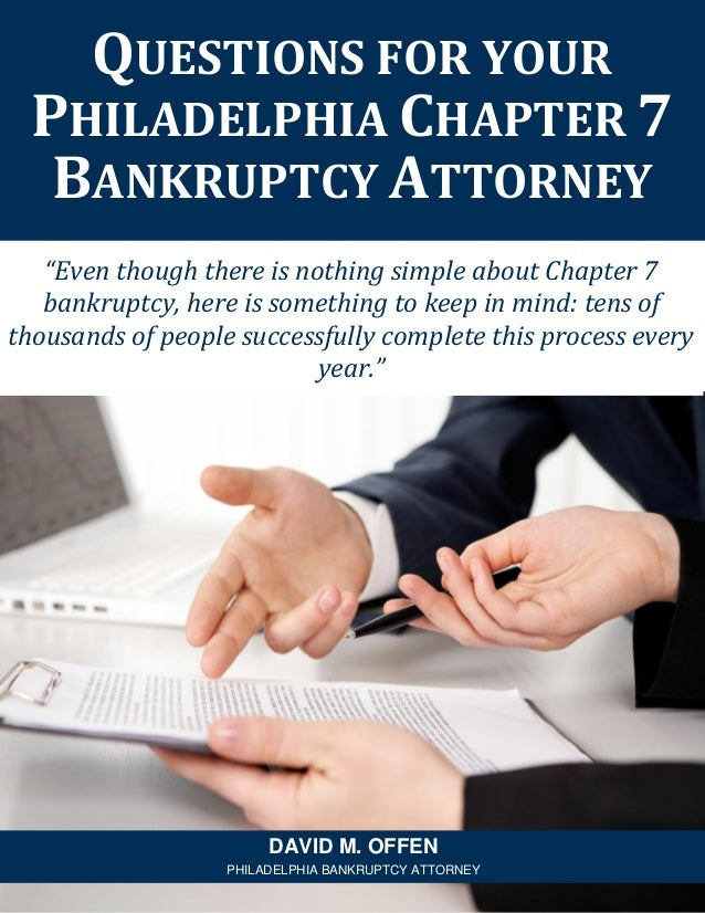 """""""Even though there is nothing simple about Chapter 7 bankruptcy, here is something to keep in mind: tens of thousands of p..."""
