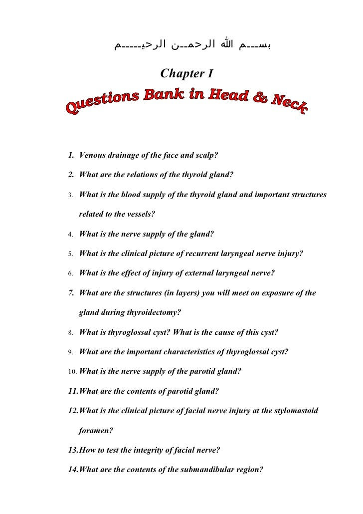 Short Essay Questions In Anatomy - Professional Resume Templates •