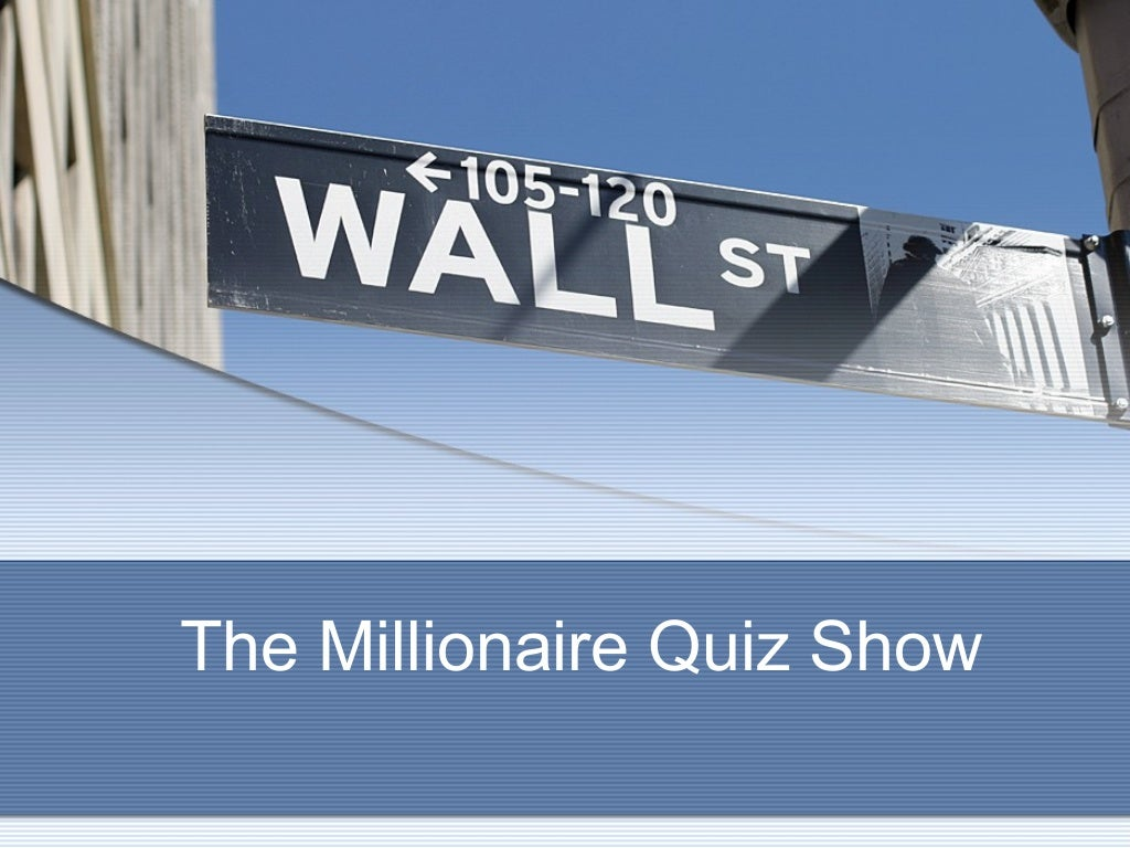 Play the Millionaires Game