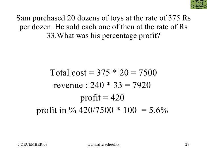tcs profit & loss questions & answers 1 prep insta