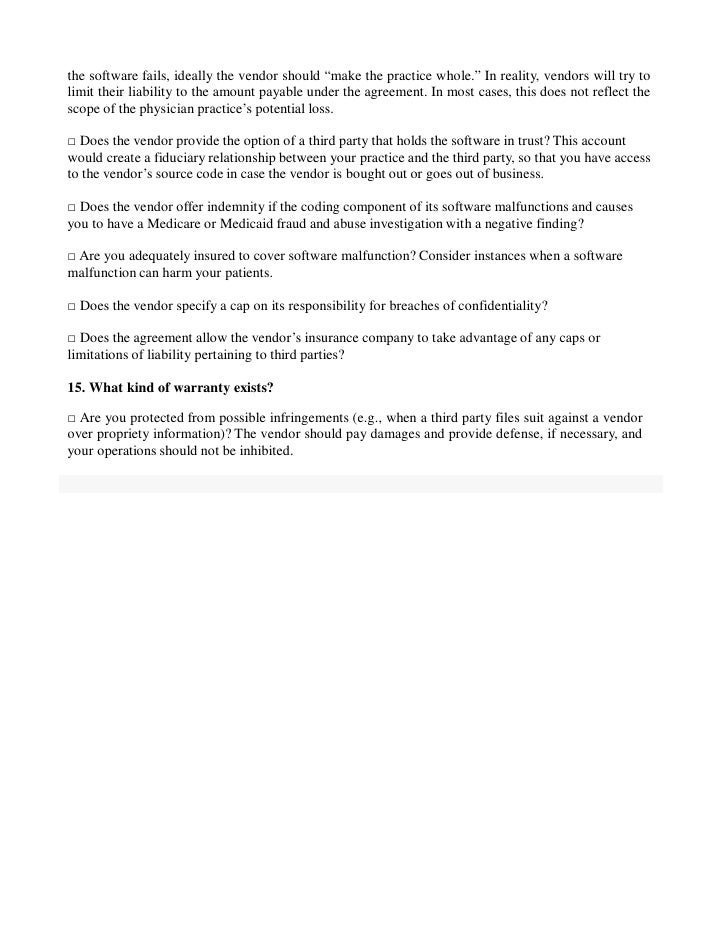 Questions To Ask Before Signing An Ehr Agreement
