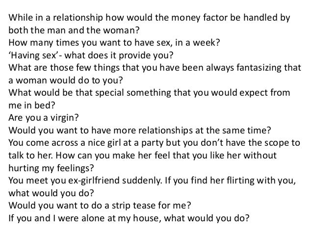 Boyfriend questions your to ask 225+ Truth