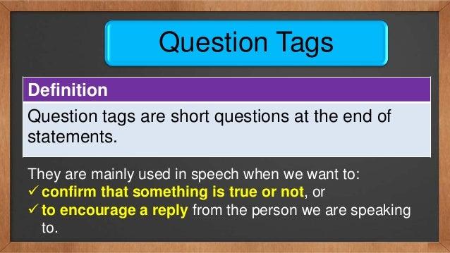 Definition Tag